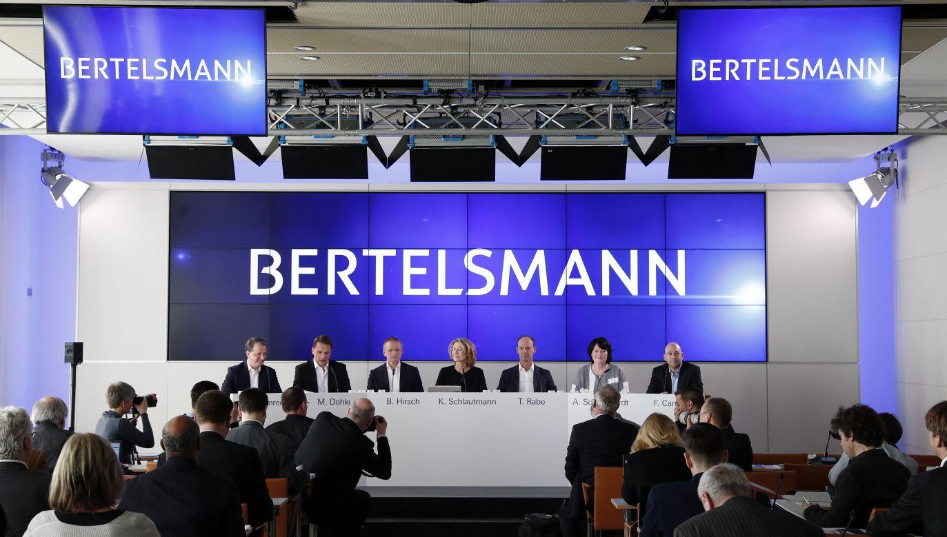 Niemiecka Fundacja Bertelsmanna (fot. PAP/EPA FELIPE TRUEBA)