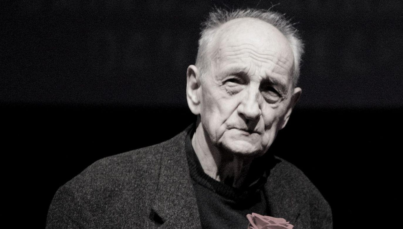 Kazimierz Karabasz died on Saturday. Photo: PAP/Grzegorz Michałowski