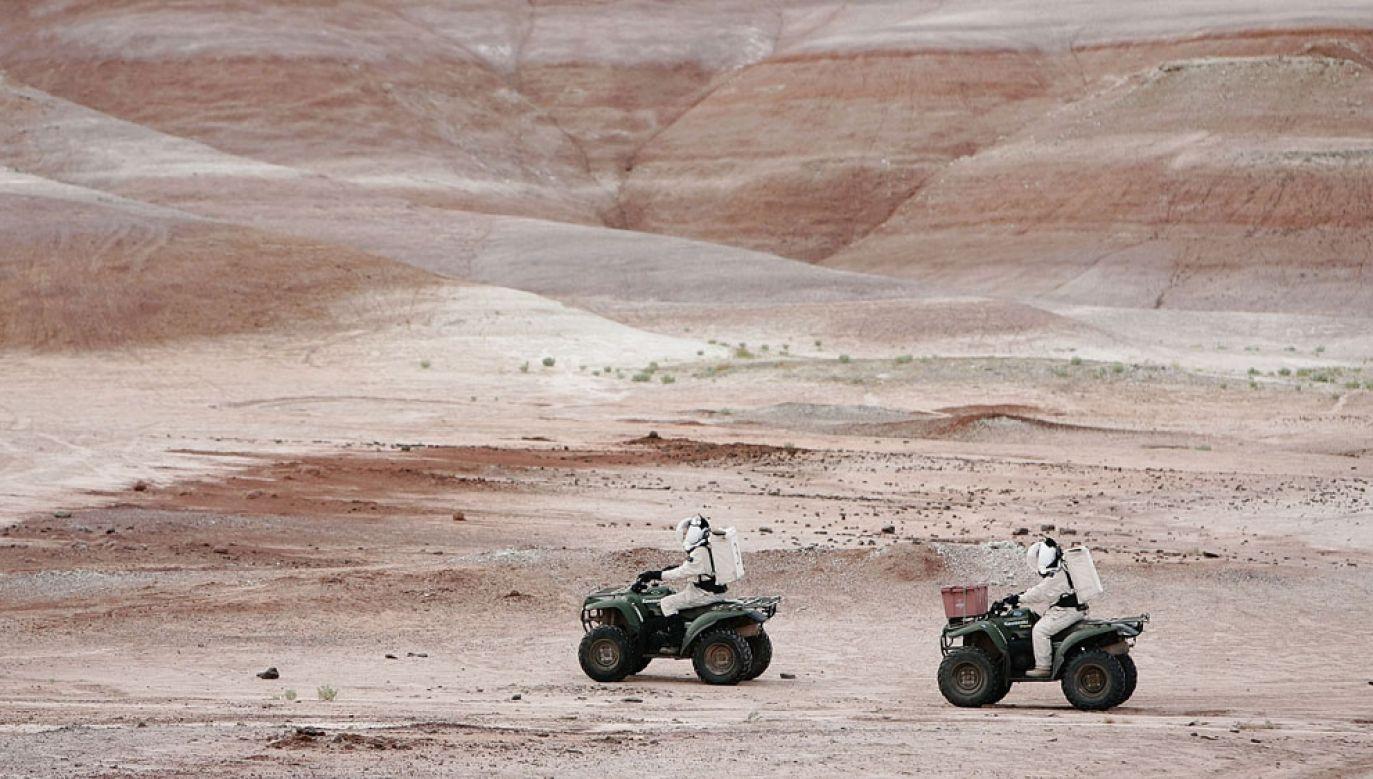 Amerykanie podobne symulacje prowadzą m.in. na pustyni w Utah (fot.  George Frey/Getty Images)