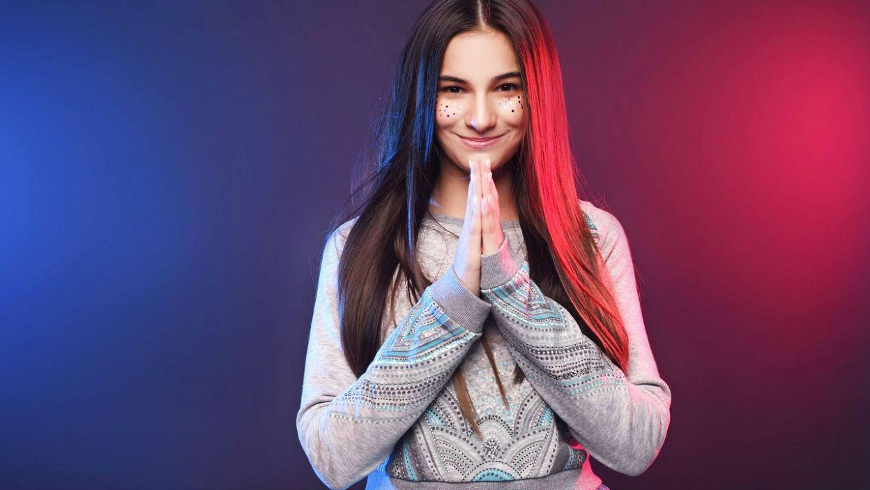 """Czy to ona wygra konkurs? Helena Meraai z Białorusi zaśpiewa """"I am the one"""" (Fot. Facebook/Junior Eurovision Song Contest)"""