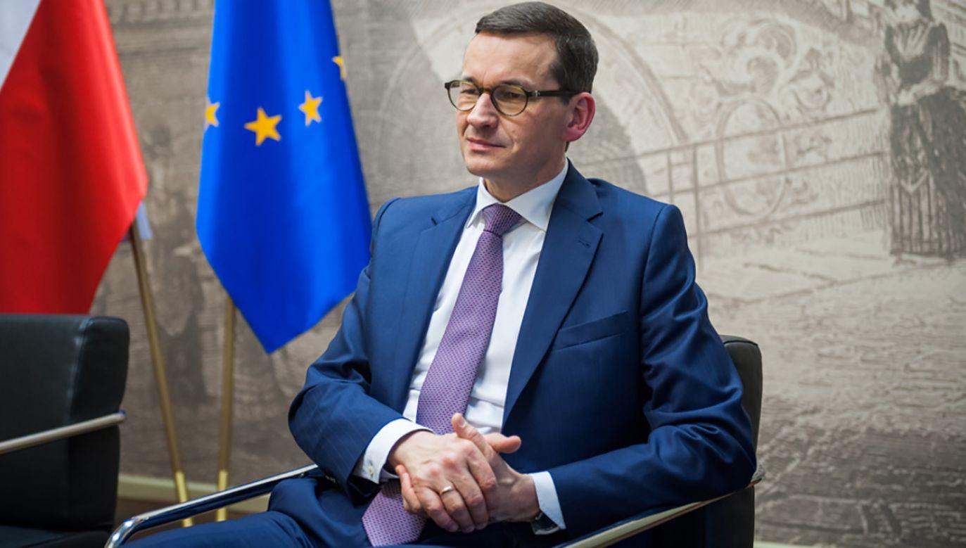 Mateusz Morawiecki pozostaje w dyplomatycznej ofensywie (fot. Flickr/ KPRM)