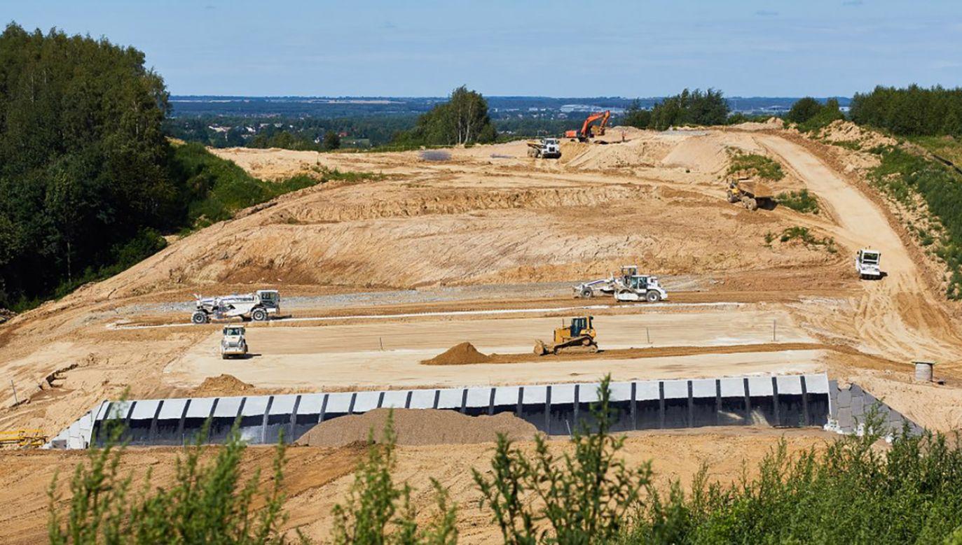 Budowa drogi ekspresowej  S19 Świlcza - Rzeszów Południe(fot. tt/@GDDKiA)