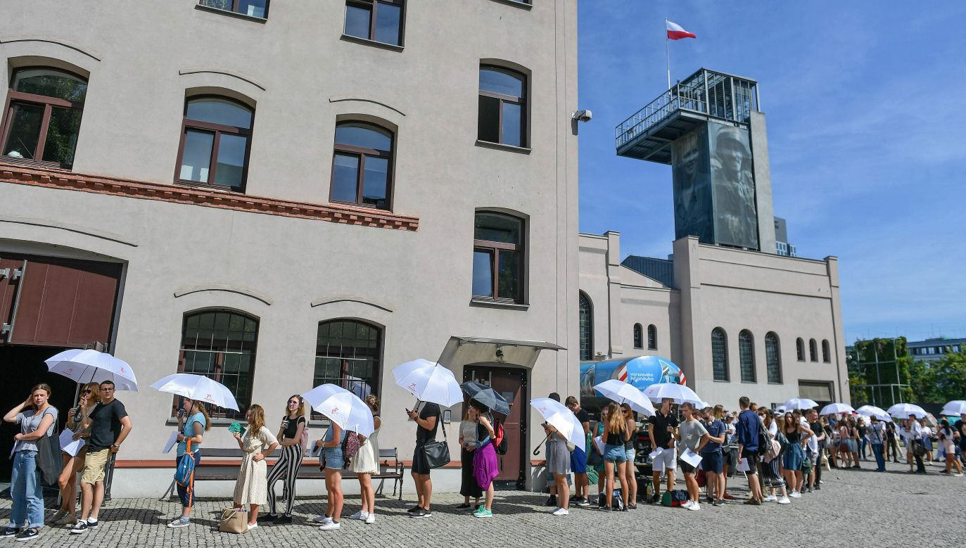 The casting has already started at the Warsaw Rising Museum. Photo: PAP/Marcin Obara
