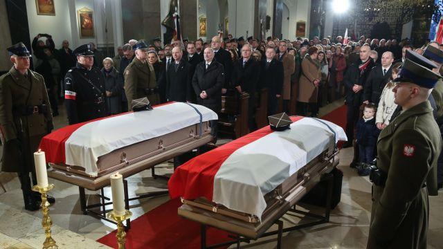 Uroczystości pogrzebowe polskich bohaterów