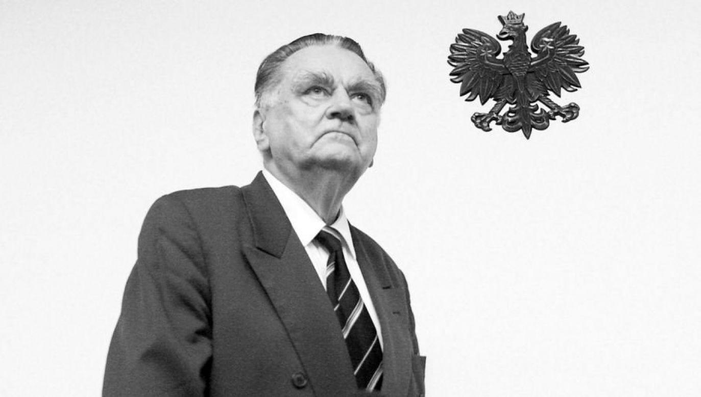Jan Olszewski zmarł 7 lutego w wieku 88 lat (fot.arch. PAP)
