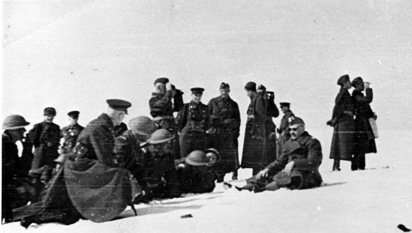 Anders' Army officers training in the Soviet Union, winter 1941/1942. Photo: Wikimedia Commons