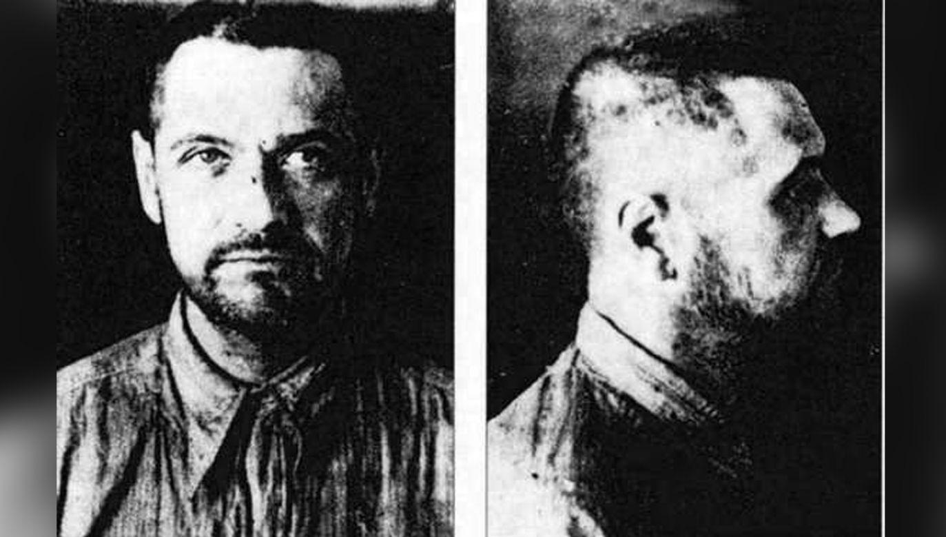 Eugeniusz Bodo po aresztowaniu przez NKWD w 1941 r. (fot. Wikimedia)
