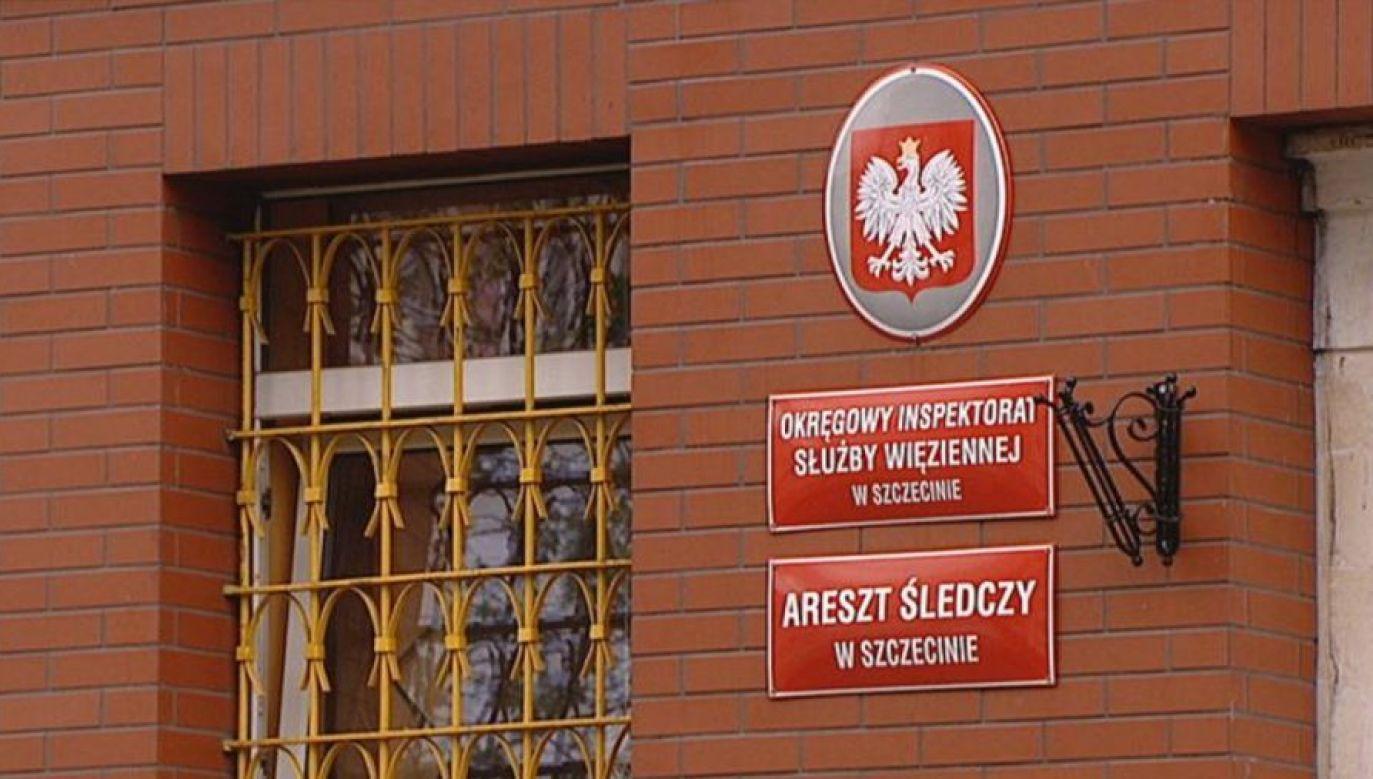 Według sądu mężczyzna faktycznie mógłby dopuścić się przestępstwa (fot. TVP3 Szczecin)