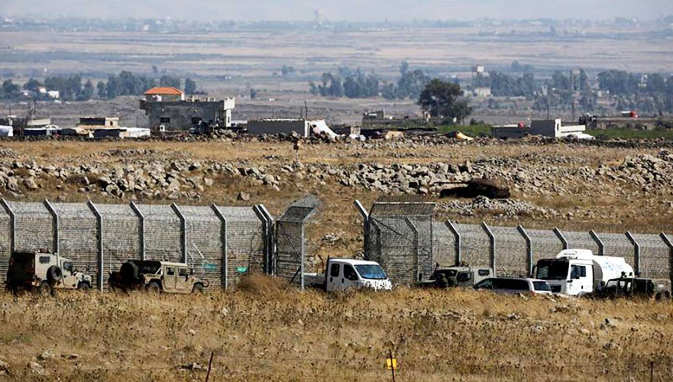 Przejście graniczne między Izraelem i Syrią (fot. REUTERS/Amir Cohen)