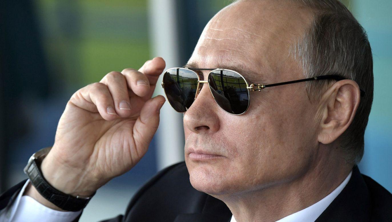 Media obiegła informacja o spodziewanej nagrodzie dla prezydenta Rosji (fot. Russian Presidential Press and Information Office/Anadolu Agency/Getty Images)