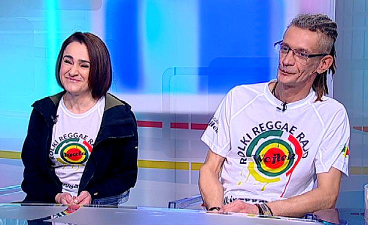 Agata i Wojciech Miszewscy  (fot. TVP3 Wrocław)