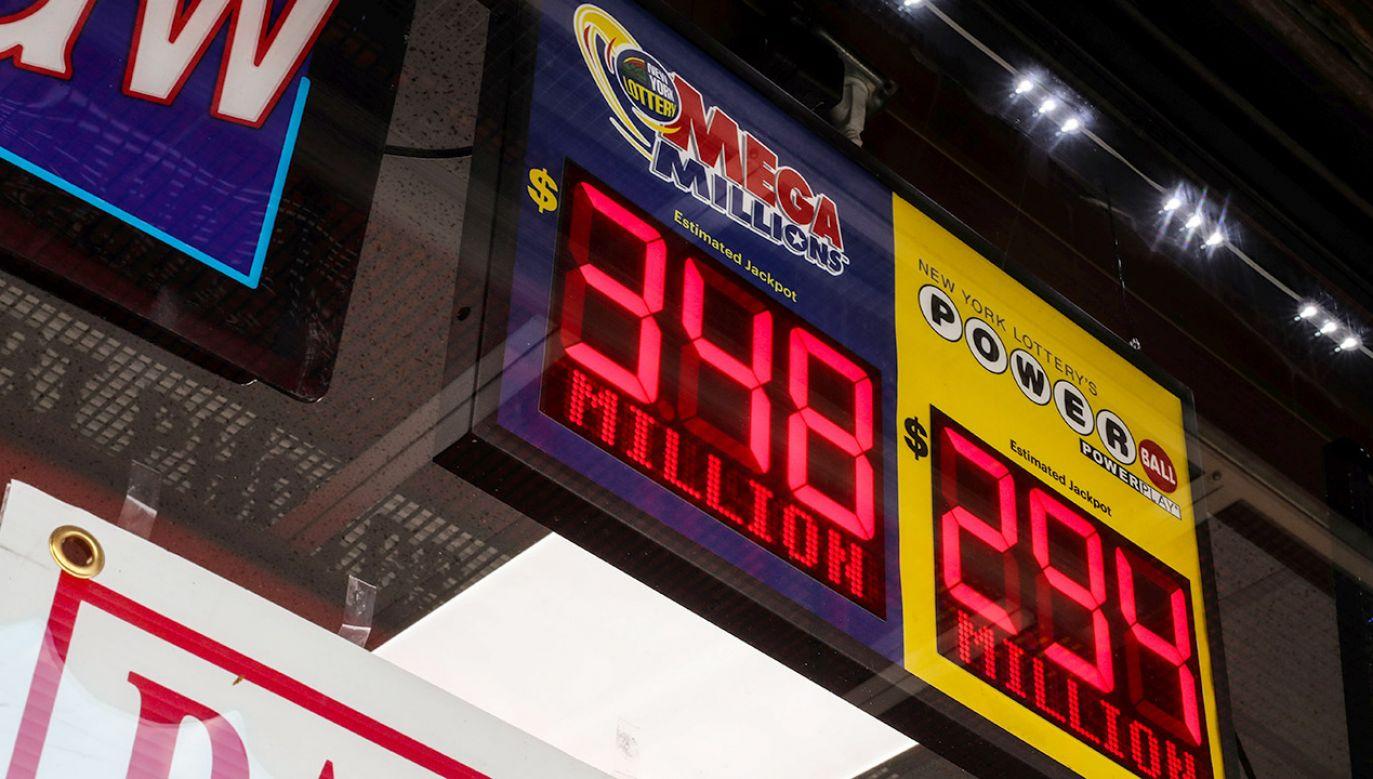 Wygrana padła w loterii Mega Millions (fot. REUTERS/Jeenah Moon)