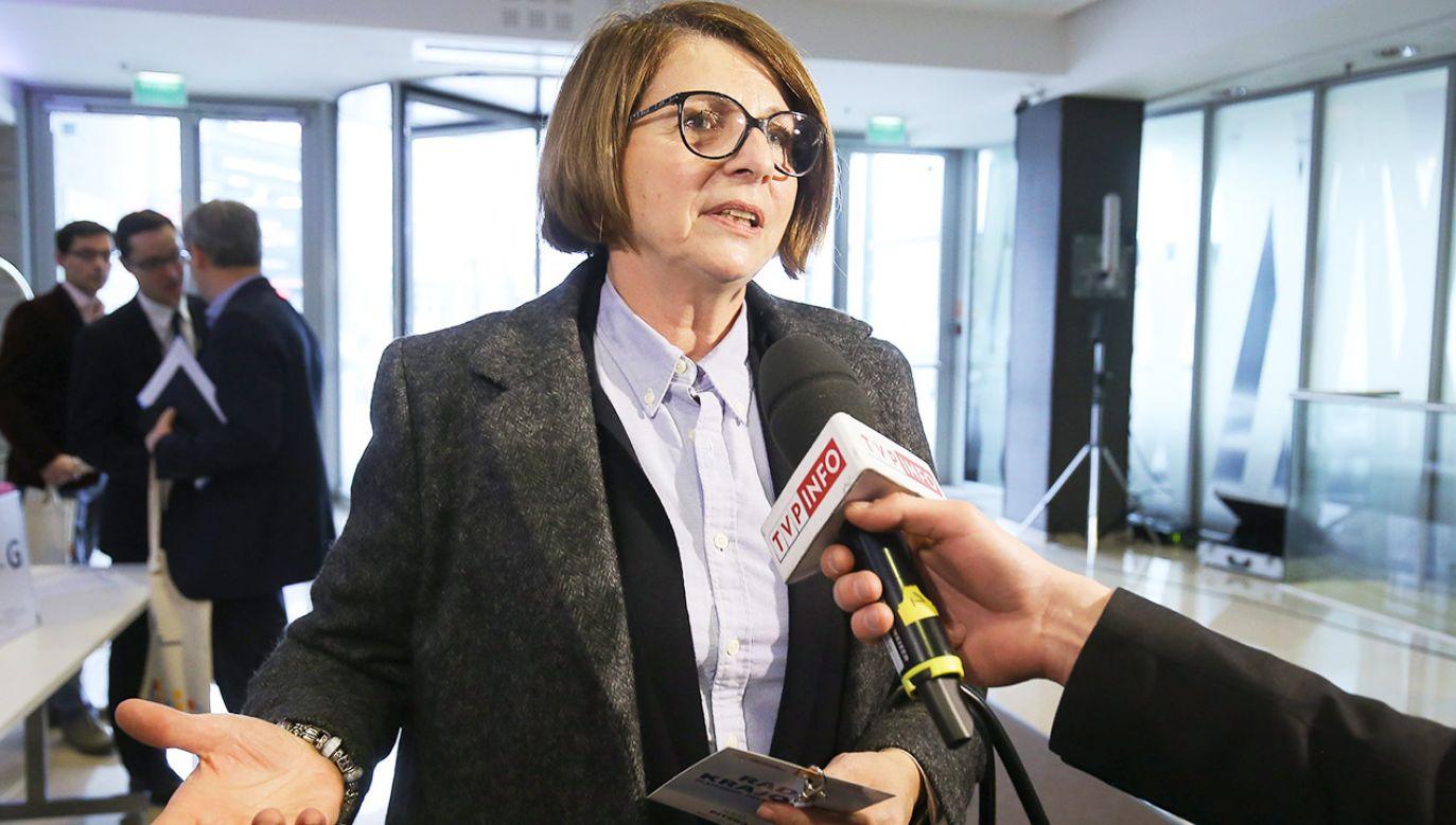 Pitera porównała podnoszenie sprawy Jugendamtów do działań tzw. antyszczepionkowców (fot. arch.PAP/Paweł Supernak)