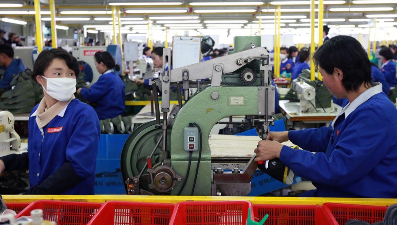 W Kaesong pracowało około 60 tys. osób, głównie północnokoreańskich robotników (fot. Park Jin-Hee-Pool/Getty Images)