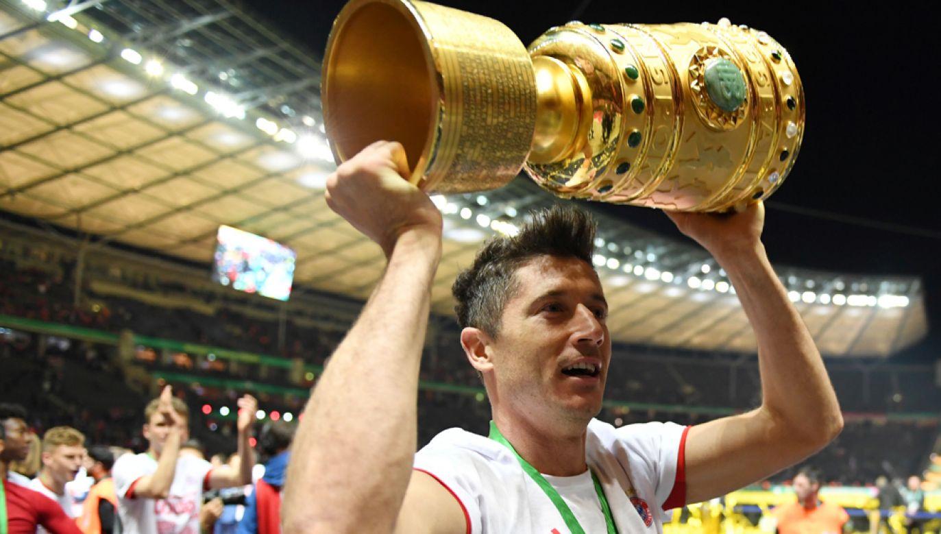 Robert Lewandowski z dorobkiem 22 bramek został najlepszym strzelcem ligowego sezonu (fot. REUTERS/Andreas Gebert)