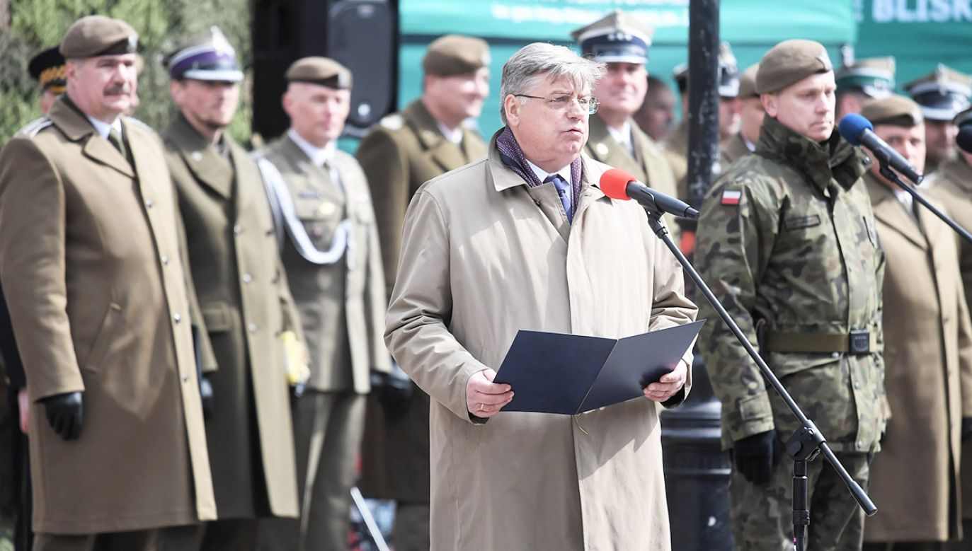 Rozmowa portalu tvp.info z europosłem PiS (fot. PAP/Tytus Żmijewski)