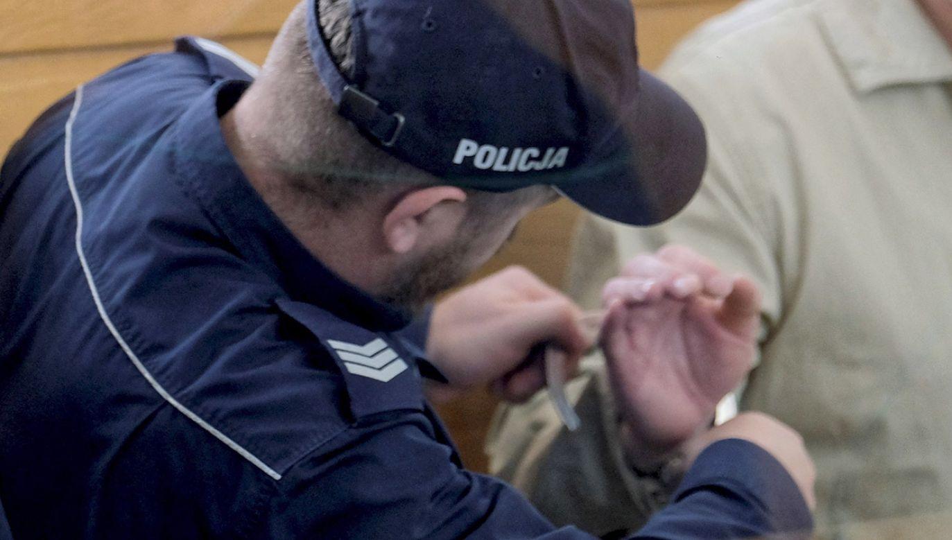 Damian B. ma spędzić w więzieniu 7 lat (fot. PAP/Andrzej Grygiel, zdjęcie ilustracyjne)