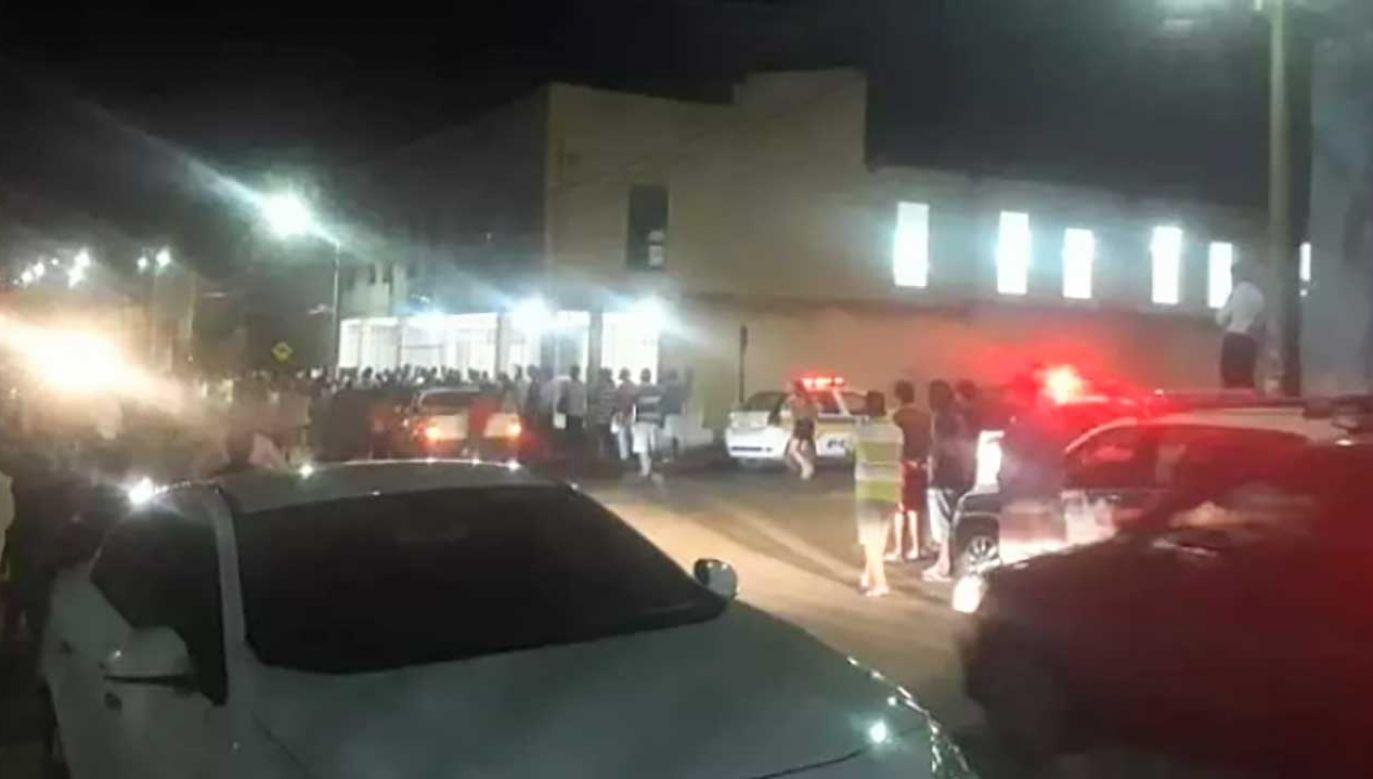 Do zdarzenia doszło w ewangelikalnym kościele Igreja Batista Shalom (fot. TT/Rádio BandNews FM)