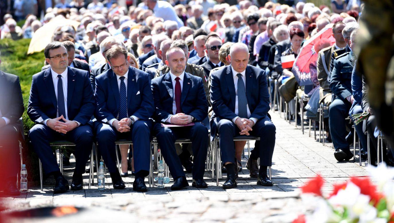 Obchody 73. rocznicy forsowania Odry (fot. PAP/Marcin Bielecki)