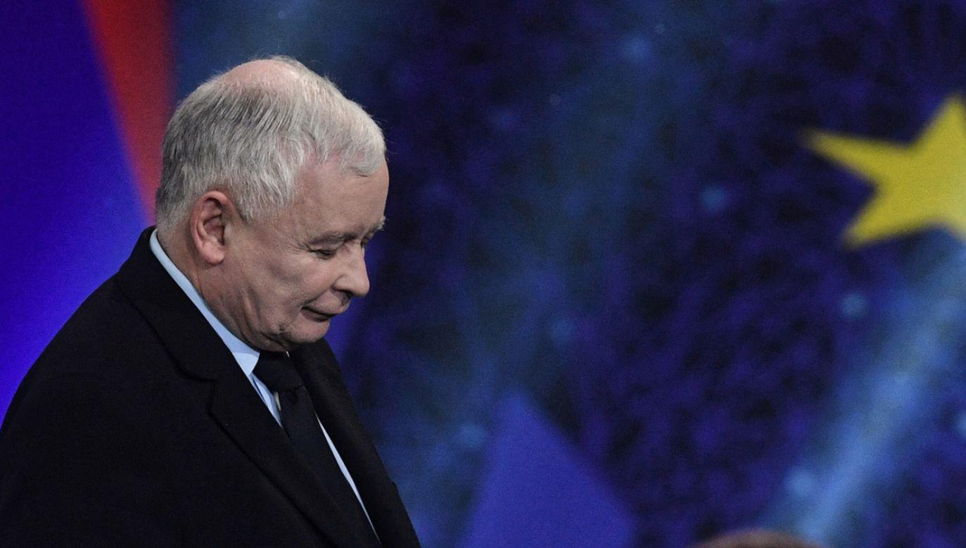 PiS ogłosiło w sobotę tzw. piątkę Kaczyńskiego (fot. PAP/Radek Pietruszka)