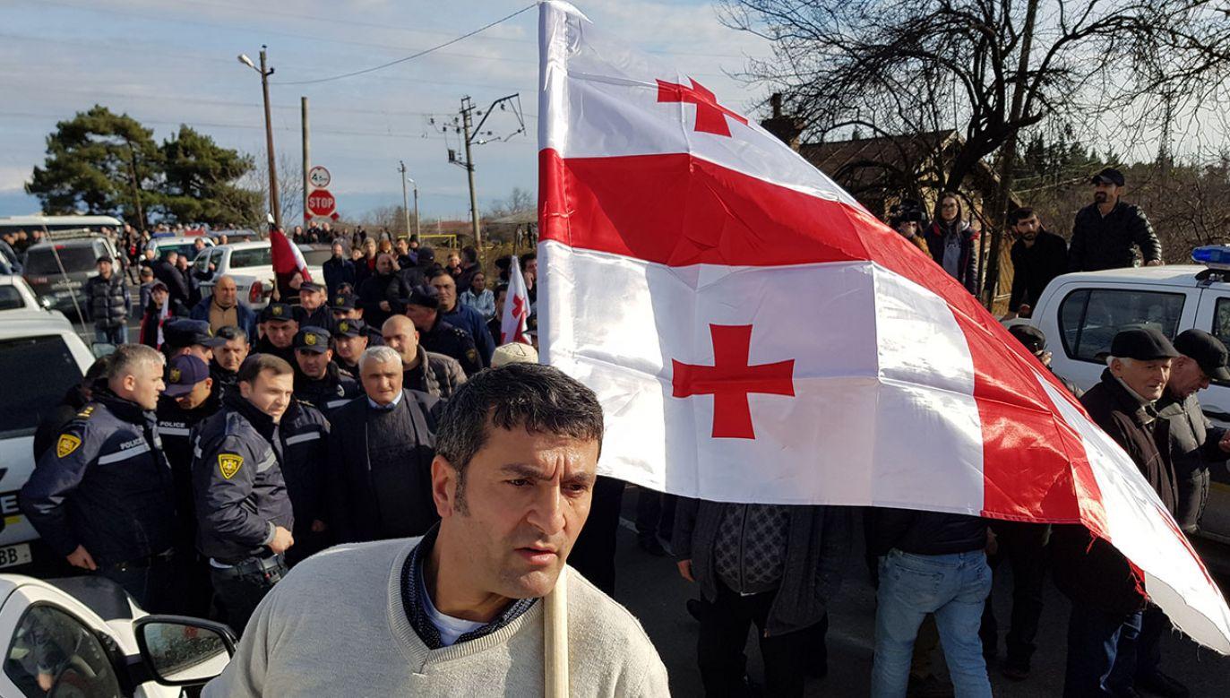 Zgodnie z uchwałą gruzińskiego parlamentu Abchazja i Osetia Południowa są integralnymi częściami Gruzji czasowo okupowanymi przez Rosję (fot. REUTERS/David Chkhikvishvili)
