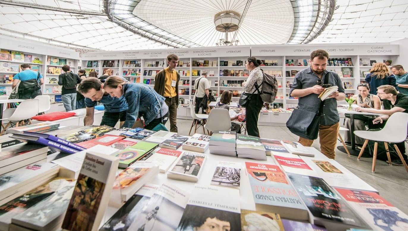 The Warsaw Book Fair. Photo: twitter.com/@PGENarodowy