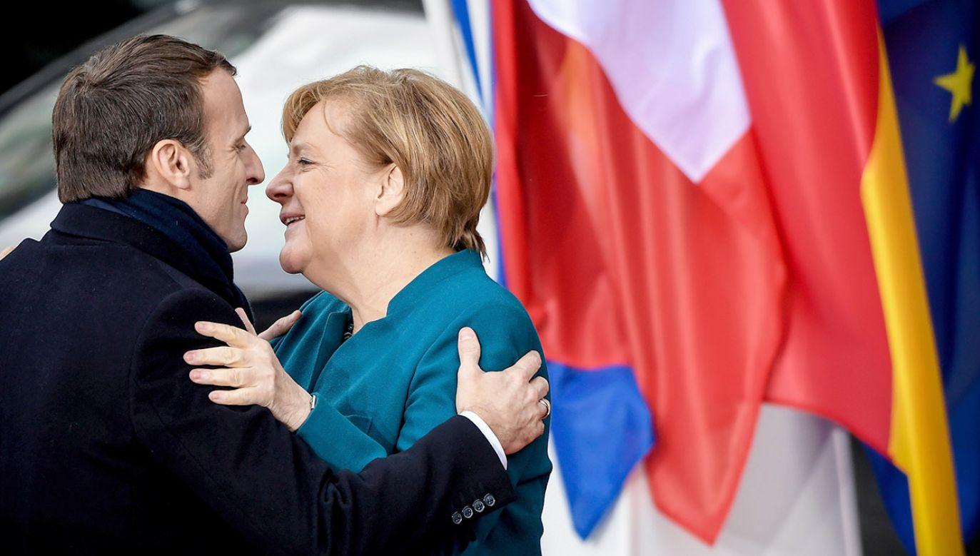 Francja i Niemcy pozostają najsilniejszymi graczami w UE (fot. PAP/EPA/SASCHA STEINBACH)