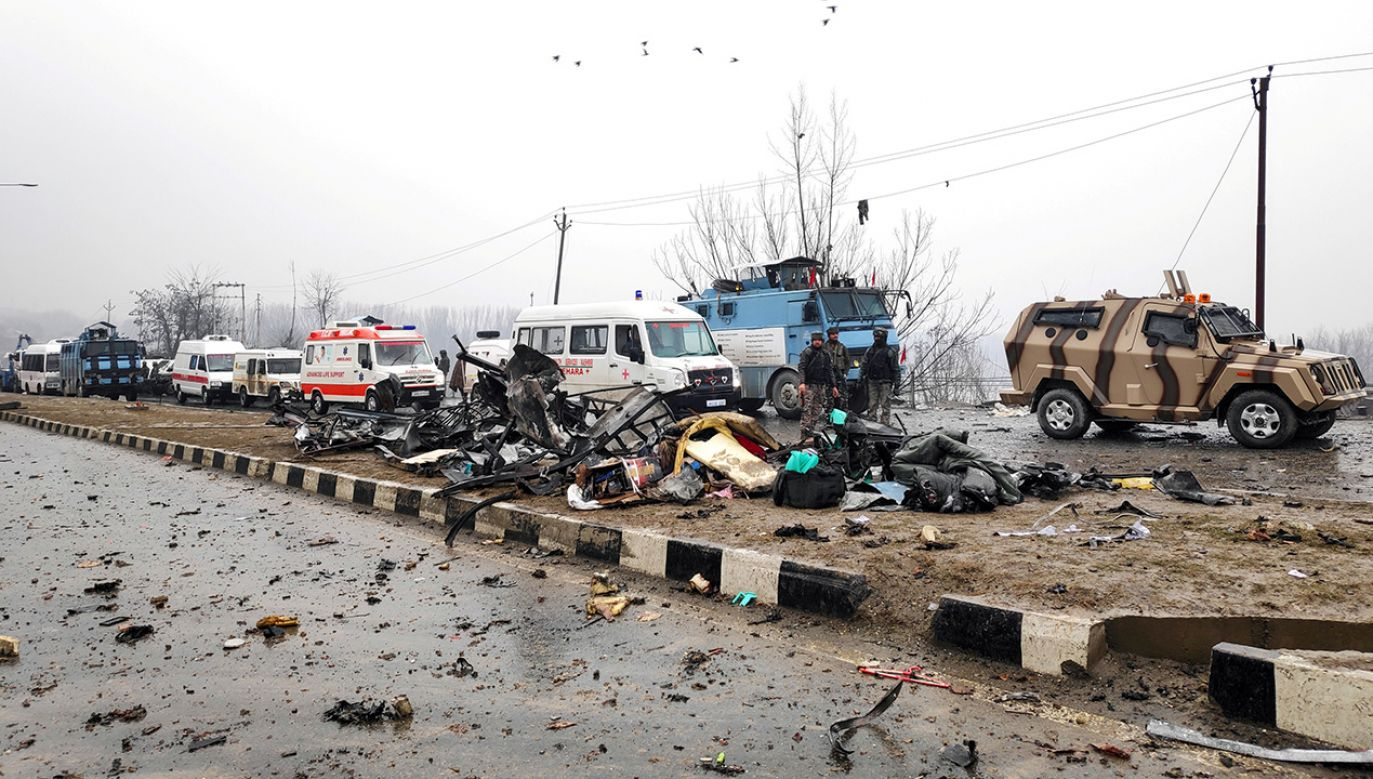 Do przeprowadzenia ataku przyznało się islamistyczne ugrupowanie Armia Mahometa (fot. REUTERS/Younis Khaliq)