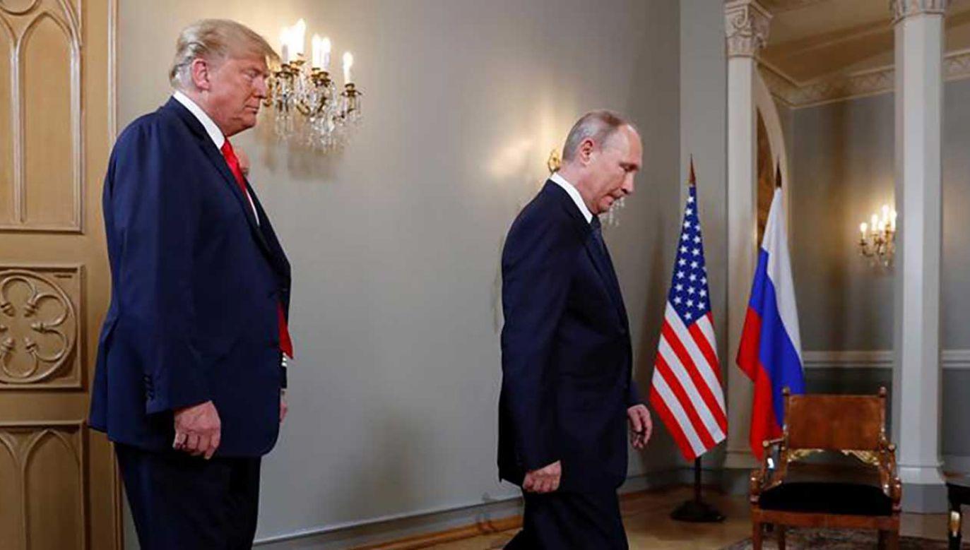 Prezydent USA nigdy nie ukrywał, że chce zakończyć udział amerykański w syryjskim konflikcie (fot. REUTERS/Kevin Lamarque)