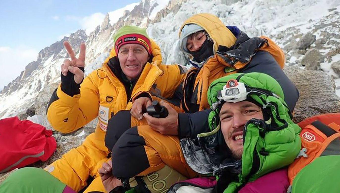 Uczestnicy narodowej wyprawy na K2 wyróżnieni prestiżową nagrodą za akcję ratunkową na Nanga Parbat (fot. FB/Denis Urubko)