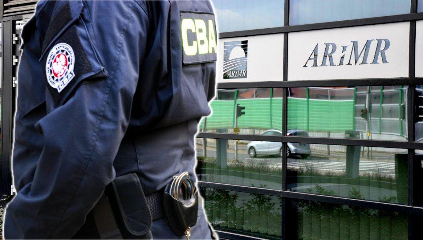 Funkcjonariusze CBA zajmują się wyłudzeniami pieniędzy z ARiMR (fot. CBA/fb/ARiMR)