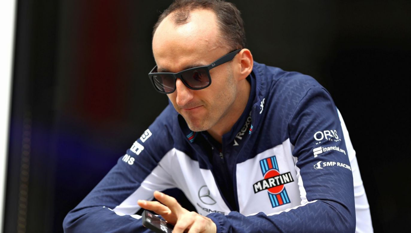 Robert Kubica turned the wheel of a Formula 1 car on a Grand Prix weekend for the first time in more than seven years. Photo: Getty Images
