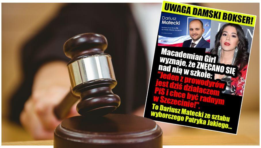 """d04ddcd279 Sąd  PO musi przeprosić Mateckiego za """"damskiego boksera"""" - tvp.info"""