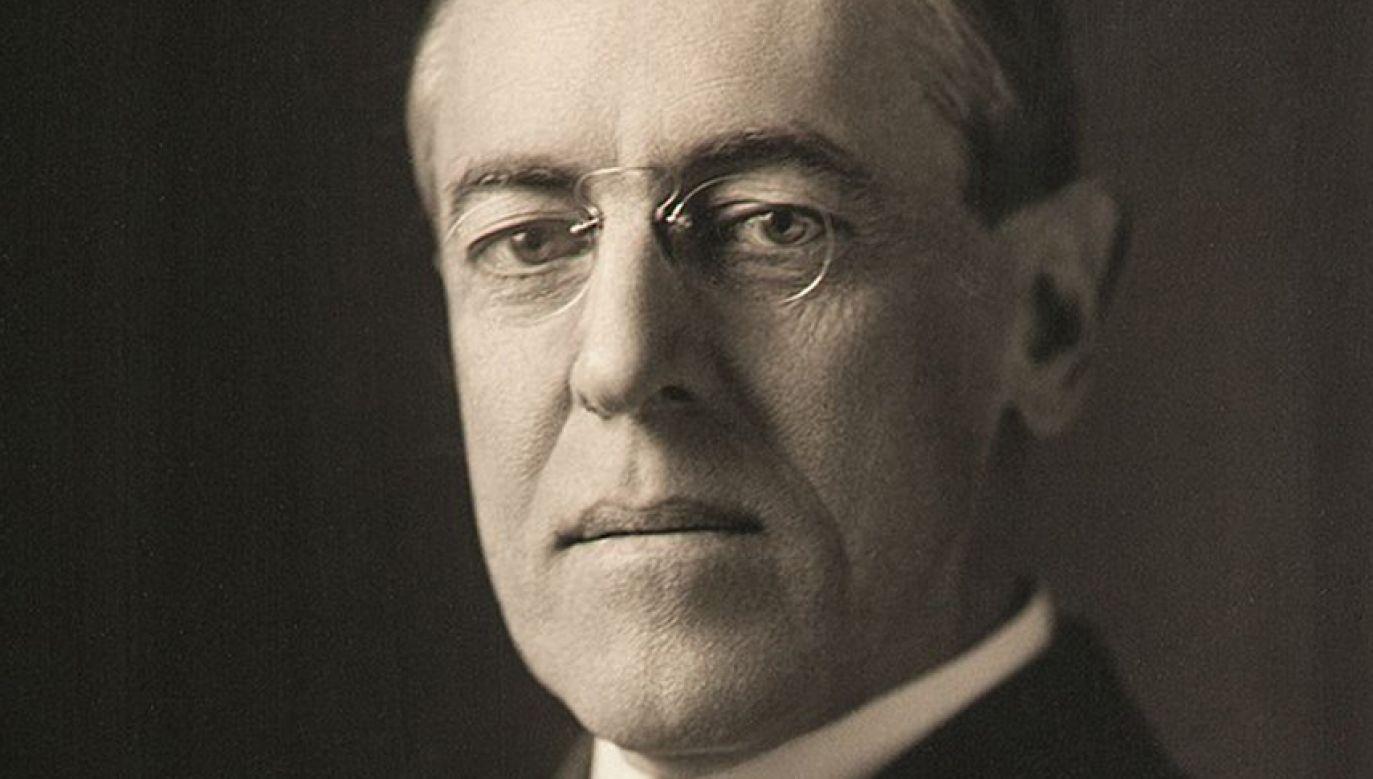Sejm upamiętnił amerykańskiego prezydenta Thomasa Woodrowa Wilsona (fot. TT/Kancelaria Sejmu)