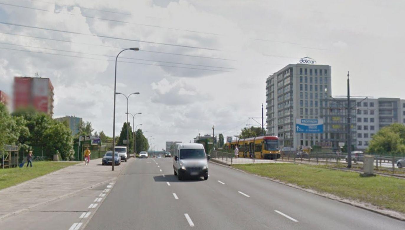 Poszkodowana została przewieziona do szpitala(fot. Google Maps)