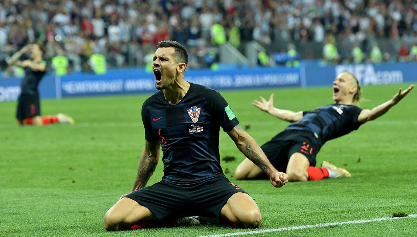 W finale MŚ Chorwacja zmierzy się z Francją (fot. PAP/EPA)