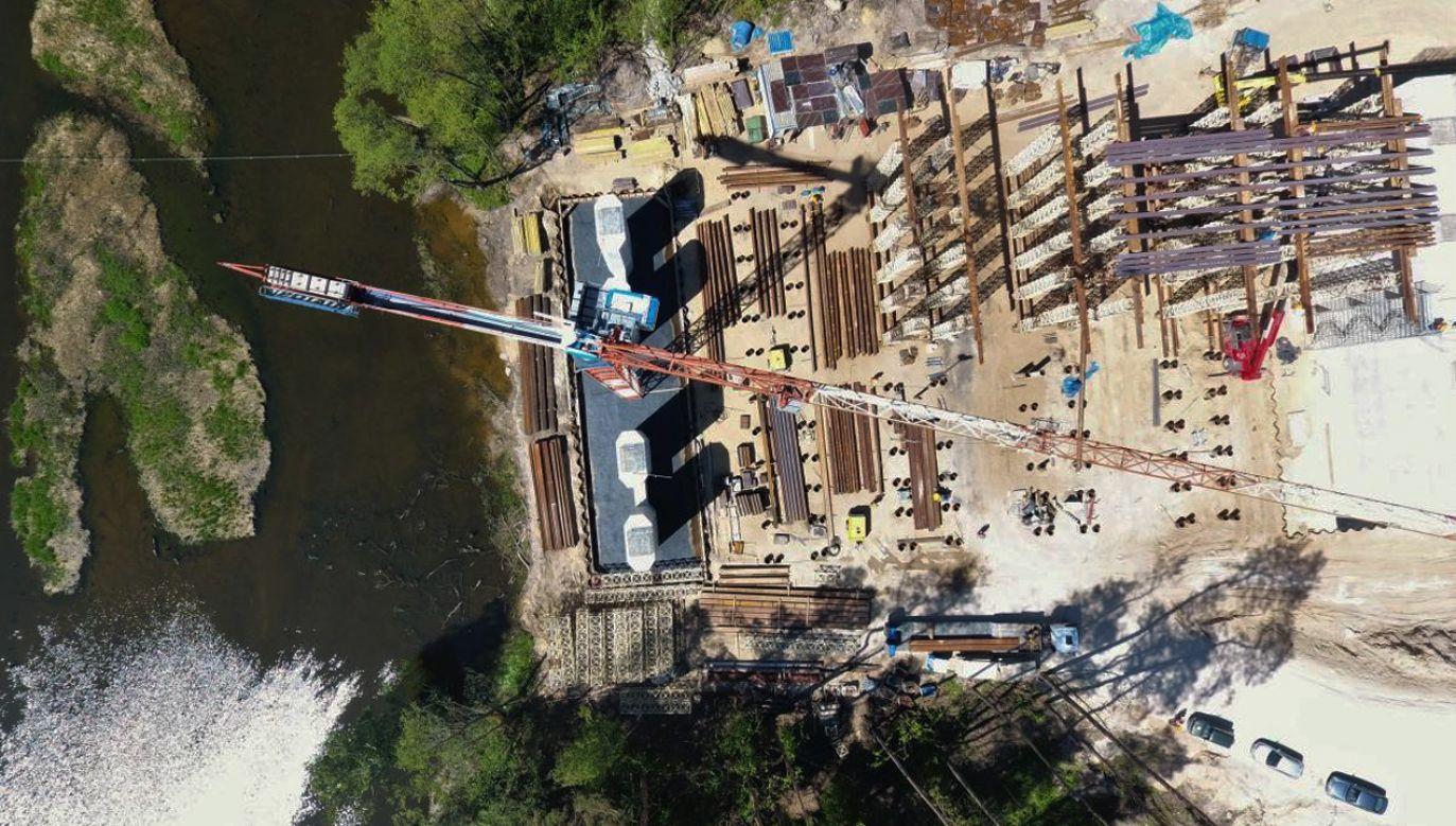 Budowa drogi ekspresowej S5 (fot. tt/@GDDKIA)