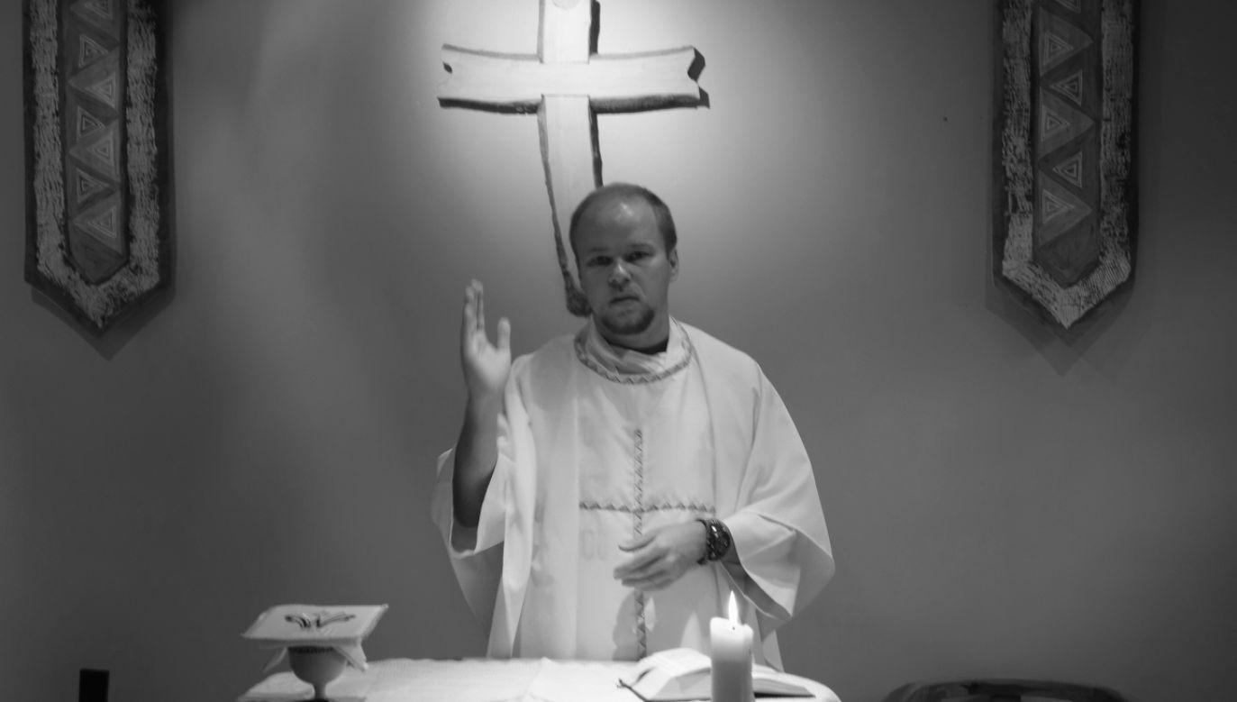 Ksiądz Adam Bartkowicz (fot. sma.pl)