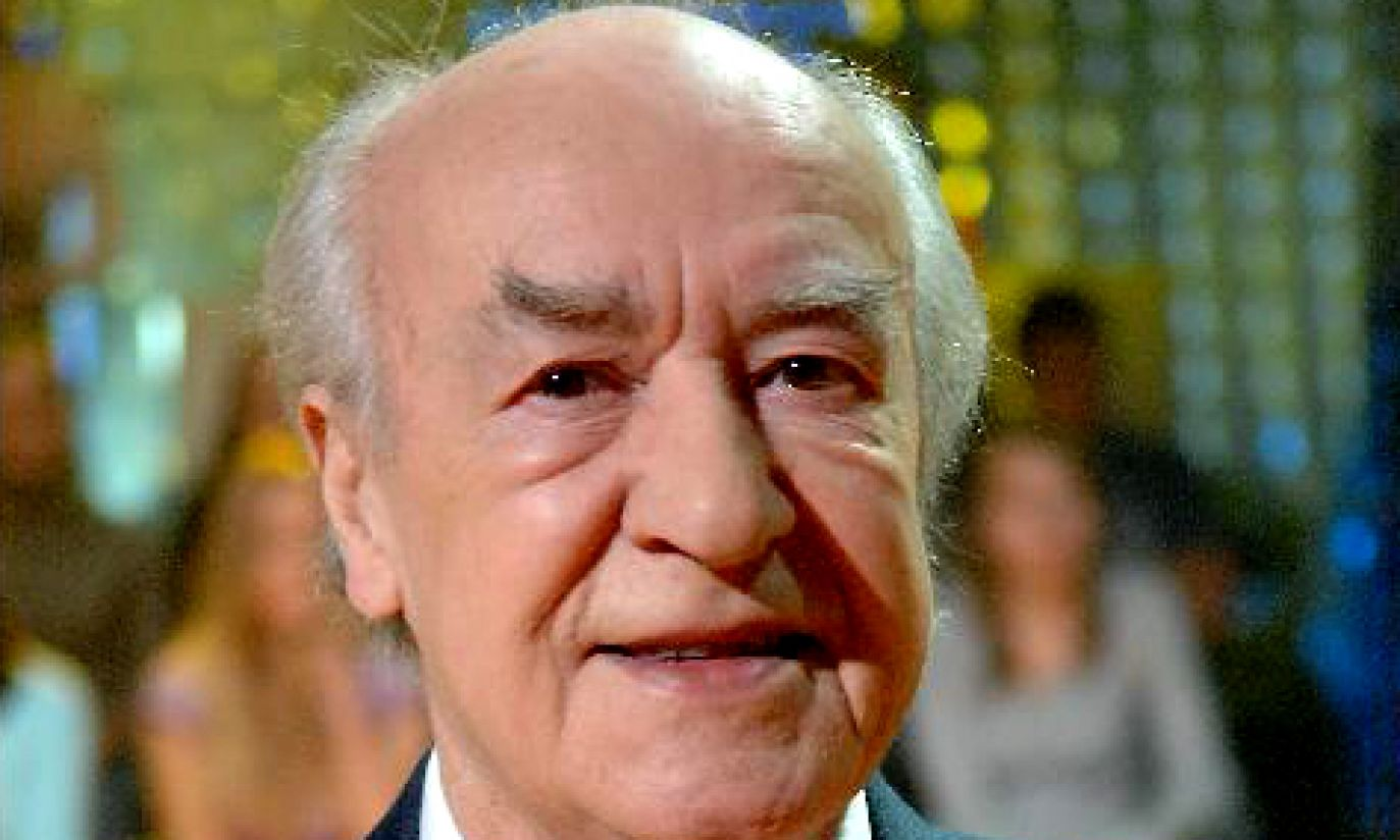Mimo swoich 90 lat pana Wiesława nie opuszcza humor (fot. arch. TVP)