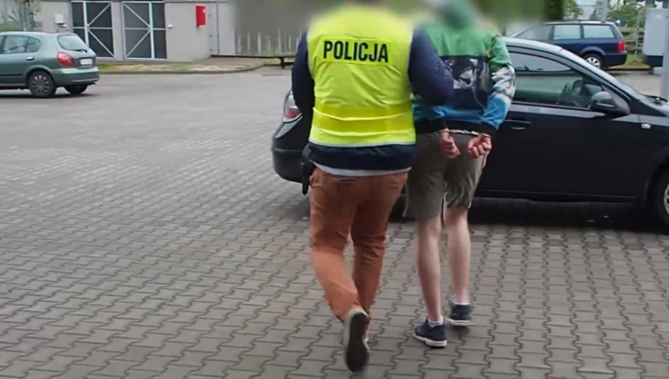 19-latek za swoje zachowanie odpowie przed sądem (fot. lubuska.policja.gov.pl)