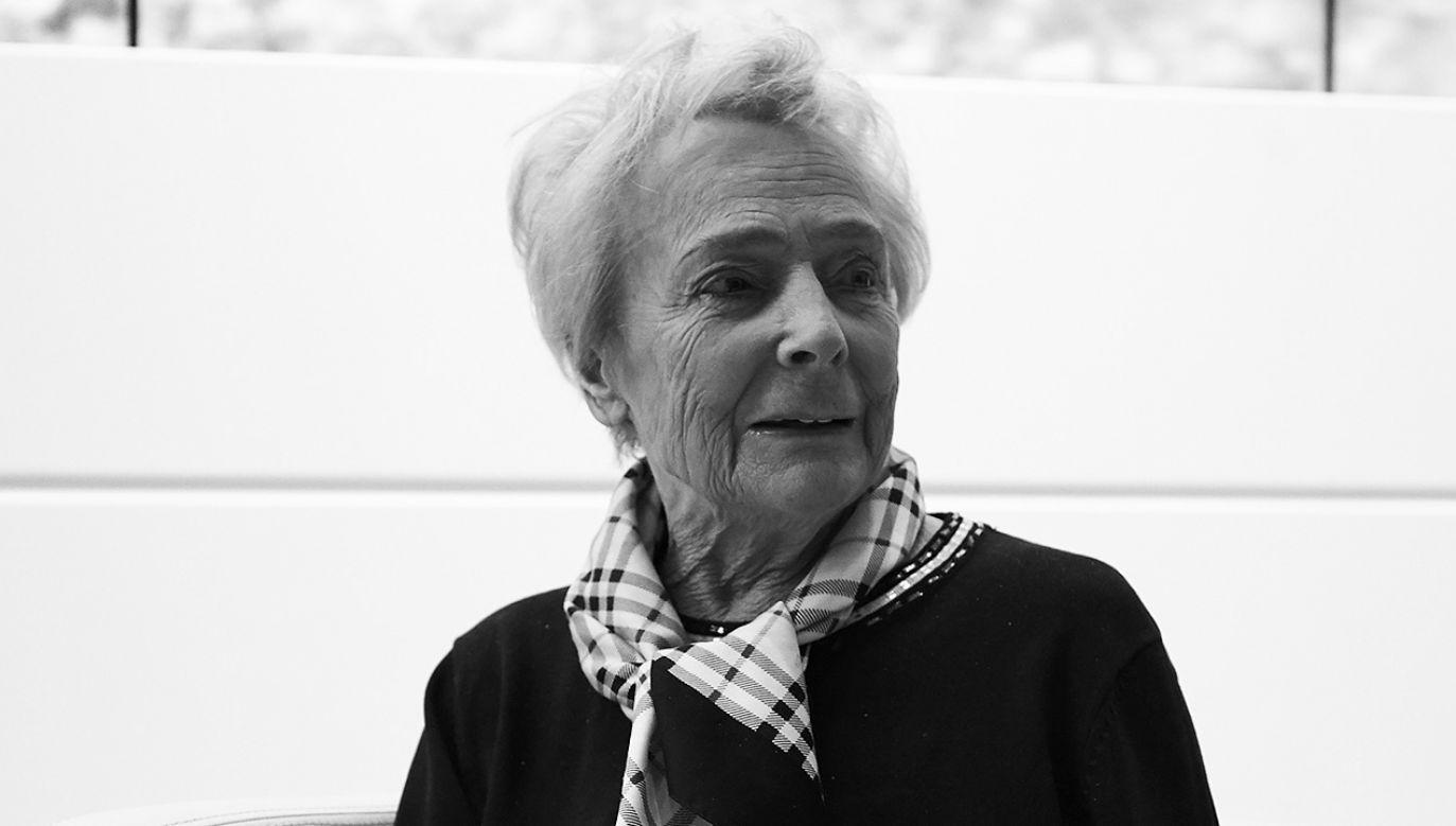 Olga Krzyżanowska (fot. arch. PAP/Dominik Kulaszewicz)