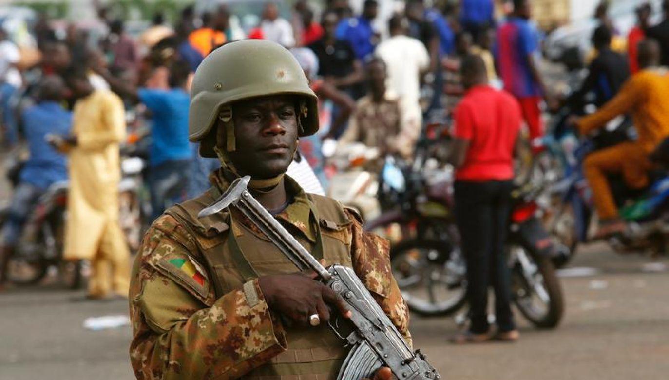 Masakra wywołała szok w całym Mali (fot. REUTERS/Luc Gnago)