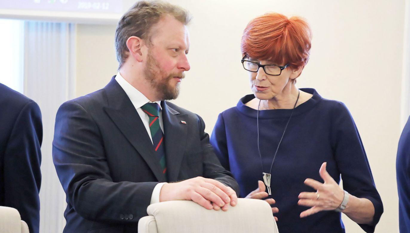 """Jak mówiła minister Rafalska, """"dzięki temu programowi udało się wyeliminować zjawisko skrajnego ubóstwa wśród najmłodszych"""" (fot. PAP/Tomasz Gzell)"""