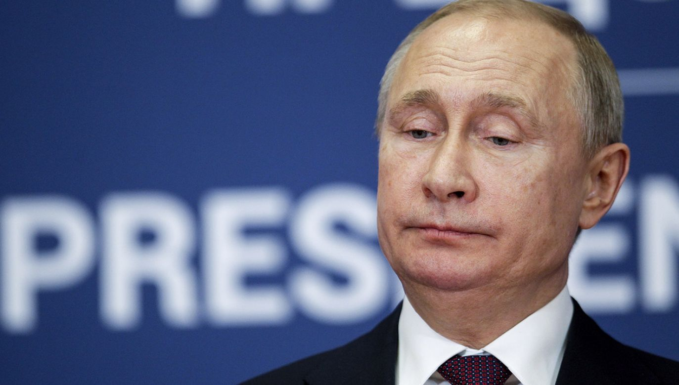 Zaledwie co trzeci Rosjanin ufa dziś Władimirowi Putinowi (fot. PAP/EPA/ANDREJ CUKIC)