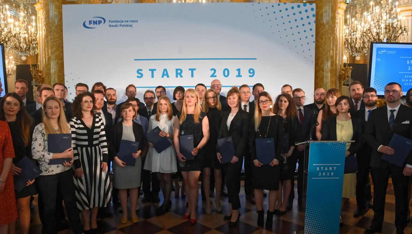 Program START Fundacji na rzecz Nauki Polskiej jest największym w Polsce programem stypendialnym dla najlepszych młodych naukowców reprezentujących wszystkie dziedziny nauki (fot. PAP/Radek Pietruszka)