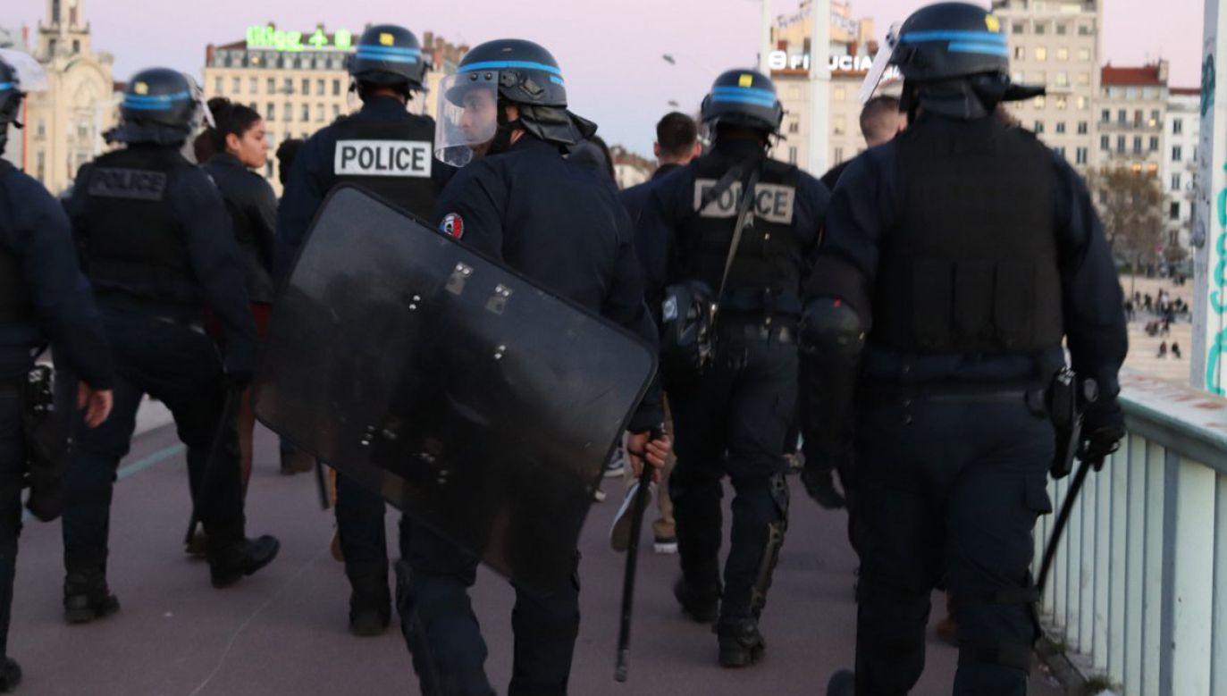 Sytuację uratowała interwencja oddziałów szturmowych policji (fot. TT/lorenzot69)