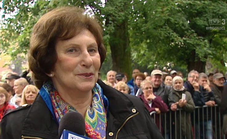 Irena Szewińska odsłoniła swoją gwiazdę na deptaku