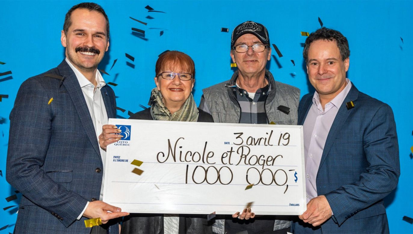 Para zamierza oddać większość pieniędzy wnukom (fot. TT/Patrice Lavoie)