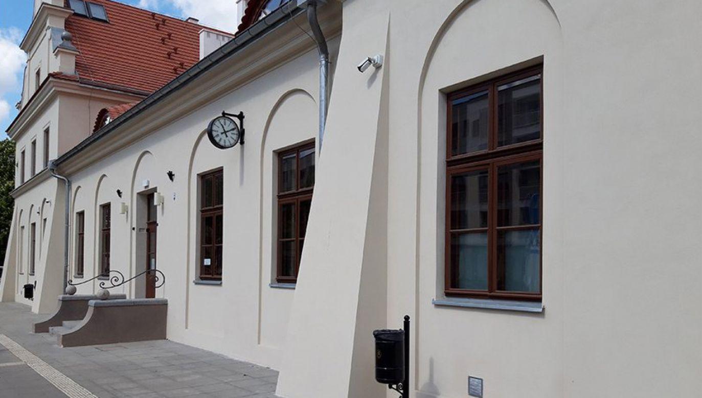 Remont przedwojennego budynku nadzorował konserwator zabytków (fot. PKP S.A.)