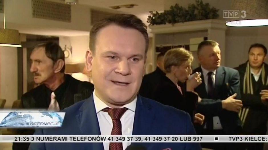 Dominik Tarczyński, poseł RP, PiS